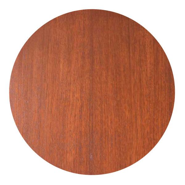 チーク材のテーブルの杢目
