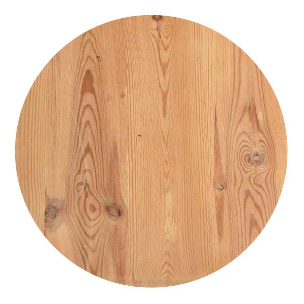 パイン材のテーブルの杢目」