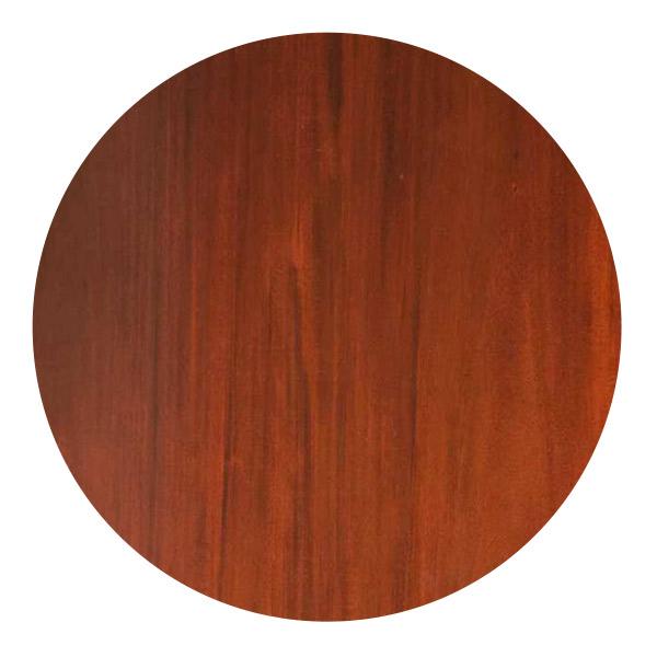 マホガニー材のテーブルの杢目