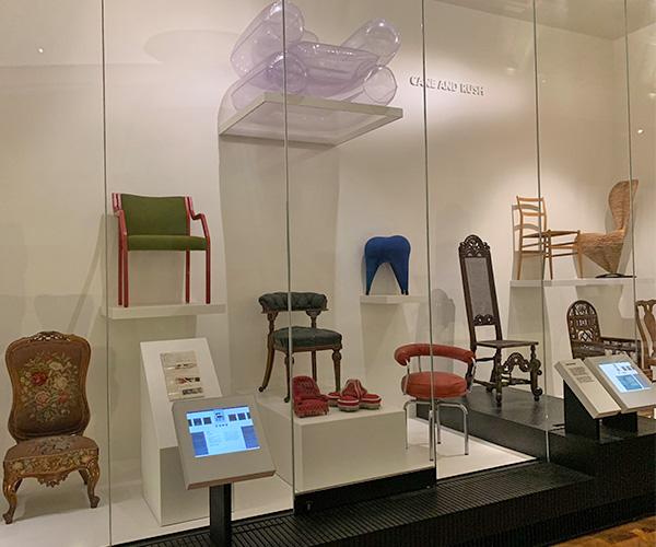 V&Aミュージアム、イギリスの旅、椅子
