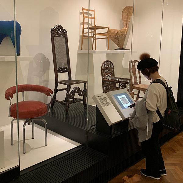 V&A Museum、イギリス旅行、家具