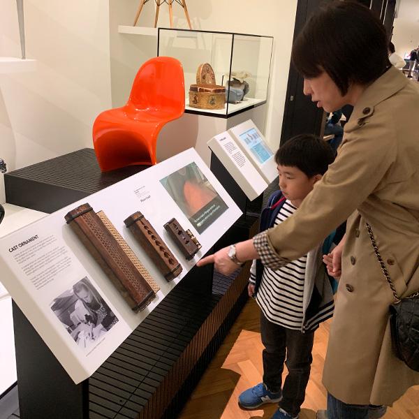 ヴィクトリア&アルバート博物館、イギリス旅行