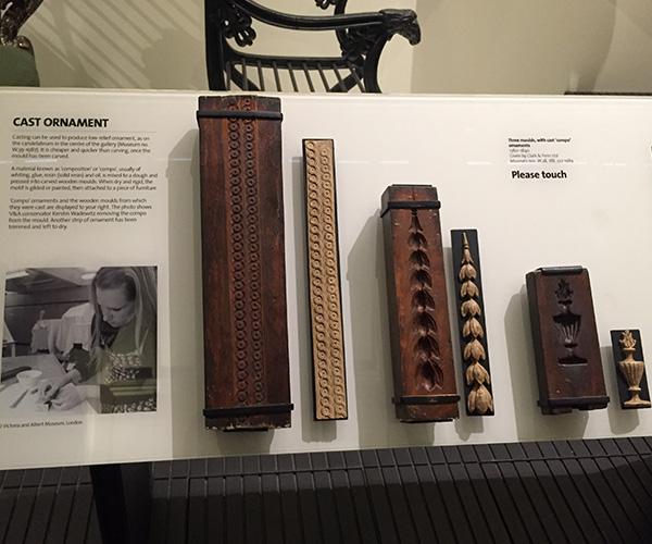 ヴィクトリア&アルバート博物館、鋳造物を作るための型