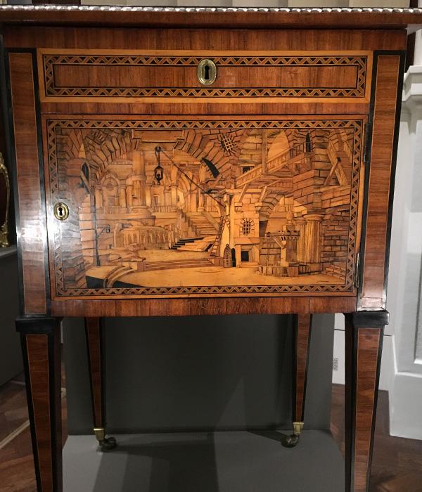 ヴィクトリア&アルバート博物館、寄せ木細工、マーケットリー