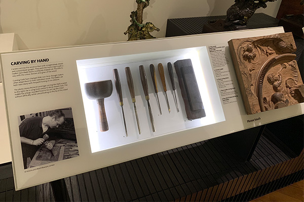 ヴィクトリア&アルバート博物館、家具の道具
