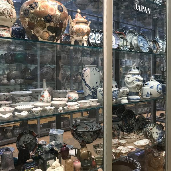 ヴィクトリア&アルバート博物館、陶磁器コーナー