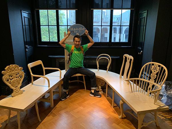 V&A Museum、アンティークの椅子