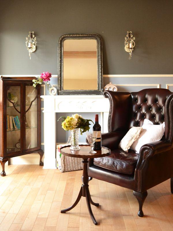 英国スタイル、ビクトリアンスタイルのお部屋