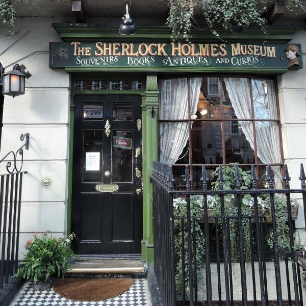 シャーロックホームズ博物館、イギリスさんぽ