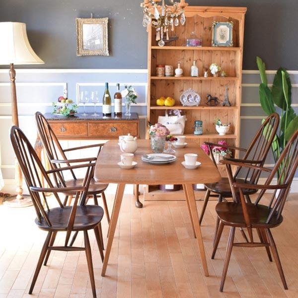アーコールチェアとアーコール社の家具でお部屋のトータルコーディネート