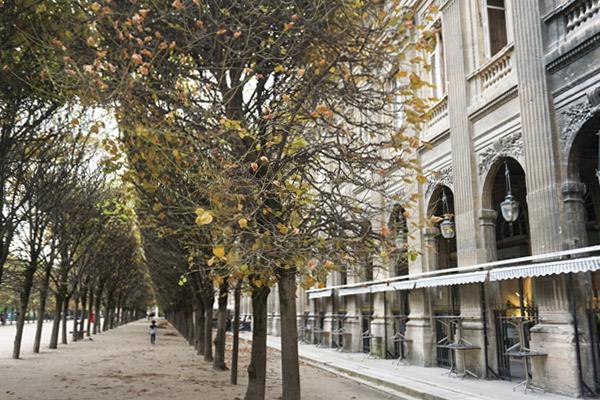 パレ・ロワイヤル、中庭の西側にモンパンシエ回廊(Galerie de Montpensier)