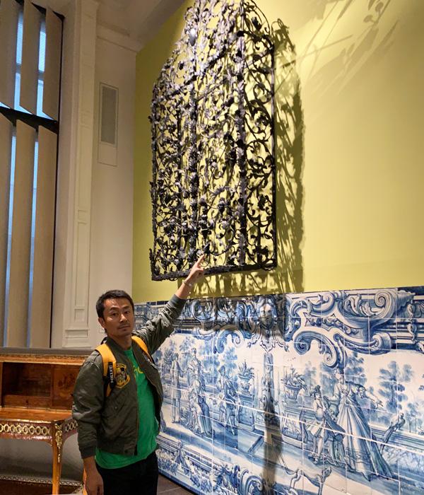 ヴィクトリア&アルバート博物館、アイアンやタイル