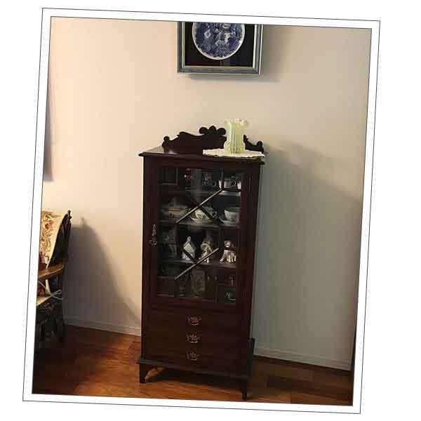 千葉県Fさまから届いたシノワズリの家具の写真