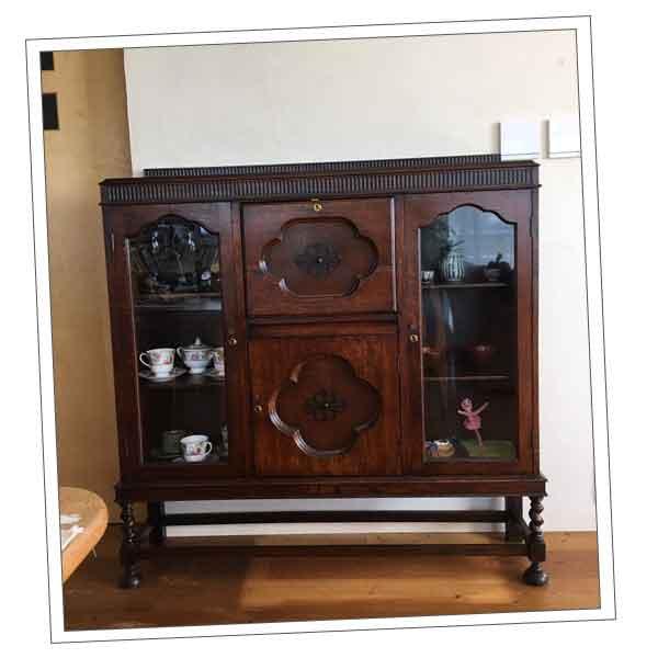 東京都Fさまから届いたシノワズリの家具の写真