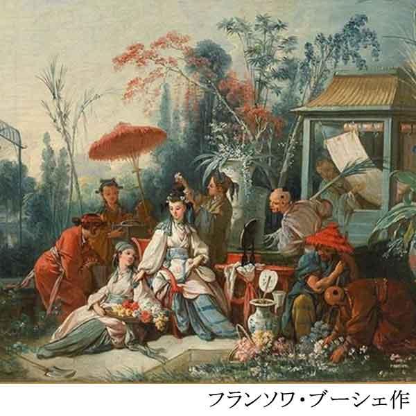 「フランソワ・ブーシェ作「中国の庭」/画像」