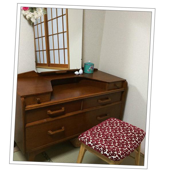 埼玉県Yさまから届いたドレッサーの写真