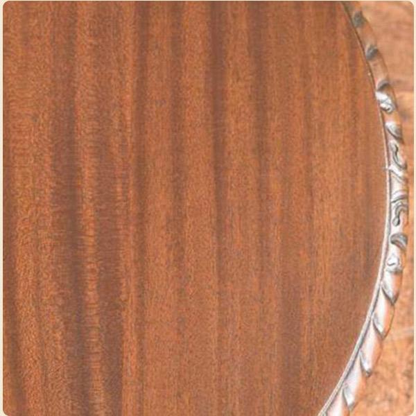 マホガニー材の特徴2輝くようなリボン杢