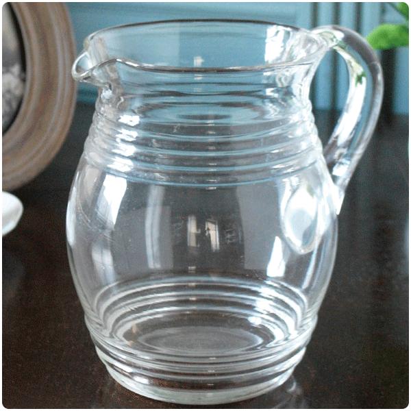 アンティークガラスのピッチャー・ジャグの選び方大きさで選ぶ01 たっぷり入る大きいサイズ