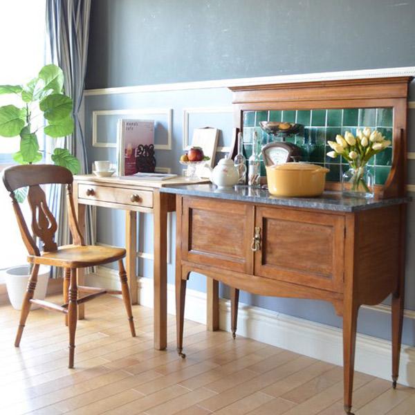 アンティーク家具 ウォッシュスタンド ウォッシュスタンドを置いたキッチンダイニング2