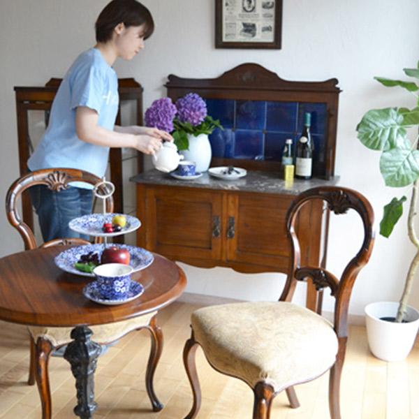 アンティーク家具 ウォッシュスタンド ウォッシュスタンドを置いたキッチンダイニング3