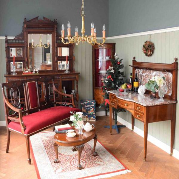 アンティーク家具 ウォッシュスタンド ウォッシュスタンドを置いたリビング3