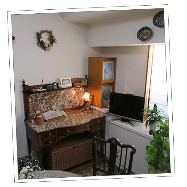 アンティーク家具 ウォッシュスタンド 千葉県Aさまから届いたウォッシュスタンドの写真