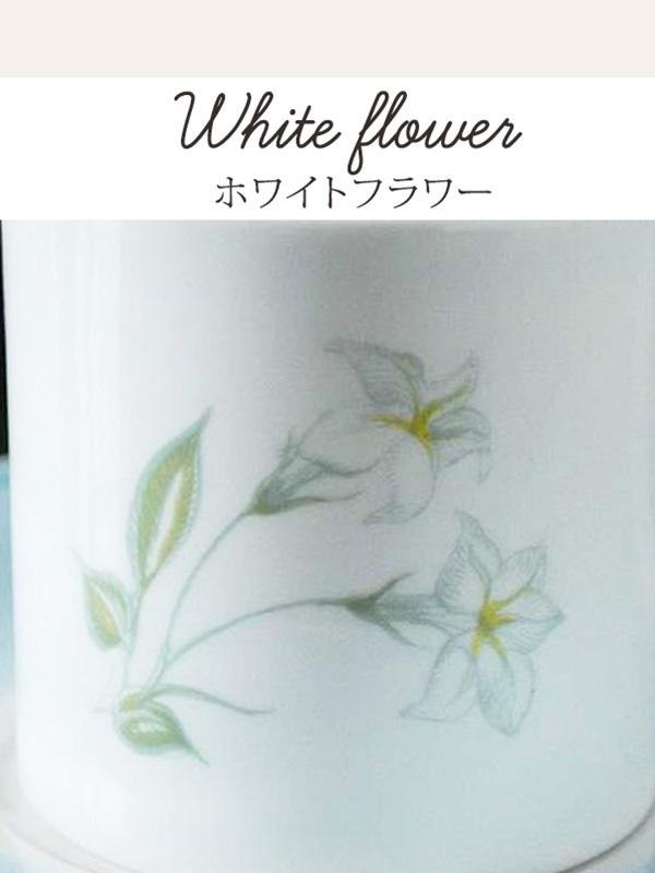 スージークーパーのデザイン、ホワイトフラワー