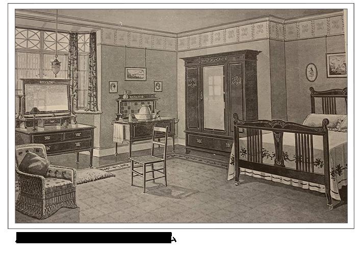 アンティーク家具 ウォッシュスタンド ヴィクトリアンベッドルームで使われているウォッシュスタンド