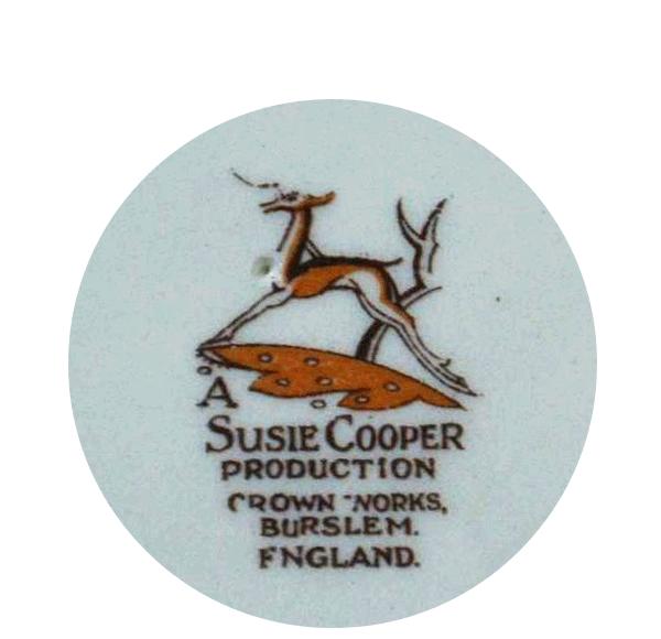 スージークーパーのバックスタンプ1932年~1965年