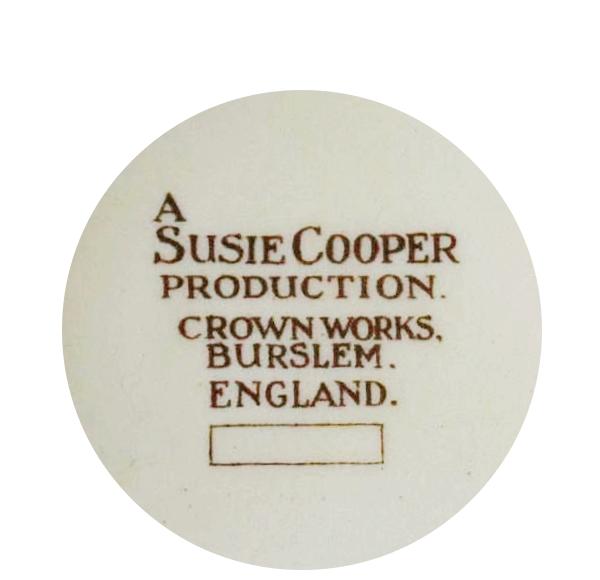 スージークーパーのバックスタンプ1932~1965年