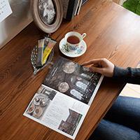 アンティーク家具Handle(ハンドル)のオリジナル冊子10ティータイムを楽しもう