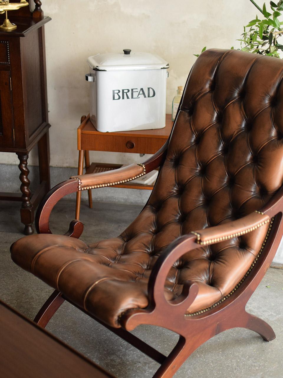 チェスターフィールドの椅子