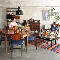 英国の職人技が際立つ北欧スタイルの家具で作ったダイニング