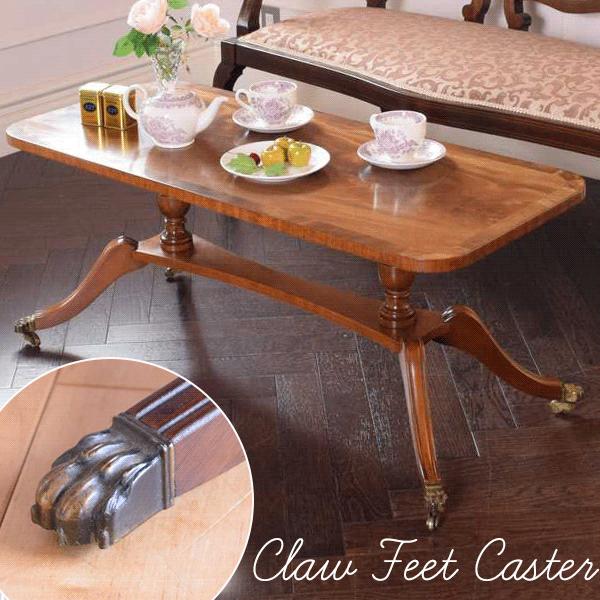 ローズウッド材の家具、動物の脚の装飾のキャスター(Claw Feet Caster)