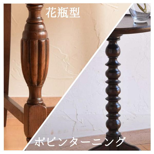 挽き物細工の花瓶型のバルボスレッグとターニングレッグ