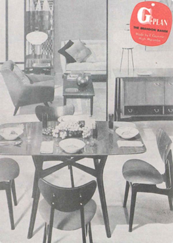 G-PLANの家具、椅子