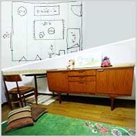 色が統一していない家具を同じ部屋に置いて大丈夫ですか?
