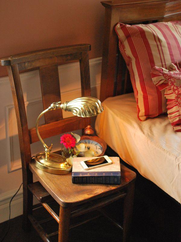 イギリスのアンティーク椅子、おしゃれなチャーチチェア