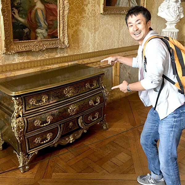ヴェルサイユ宮殿のコモード