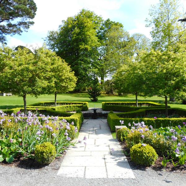 イギリス旅行、ボドナント・ガーデン、ラウンドガーデン