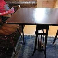 岩手県Tさまのアンティークテーブル