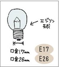 日本球(エジソン球)