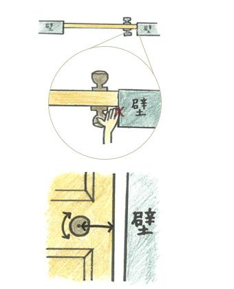 ドアノブをつける時の注意点1