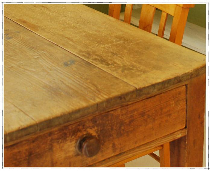 テーブルアップの写真