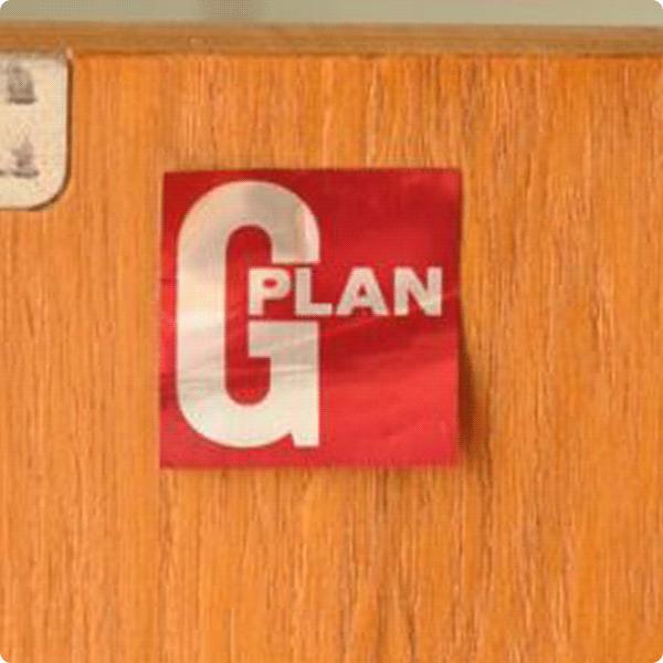 G-PLANのロゴ3.レッドラベル