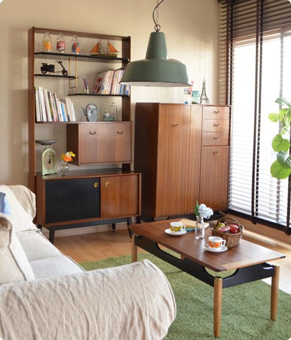 シンプルでクールな北欧デザインG-PLANの家具
