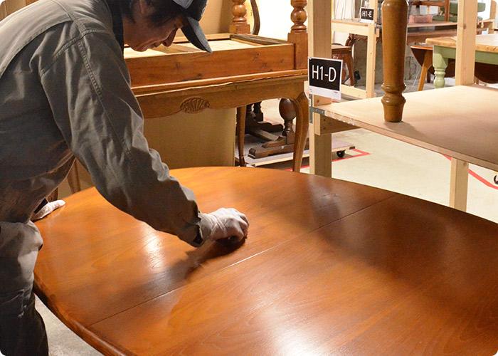 テーブルの修復