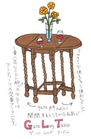 テーブルイラスト