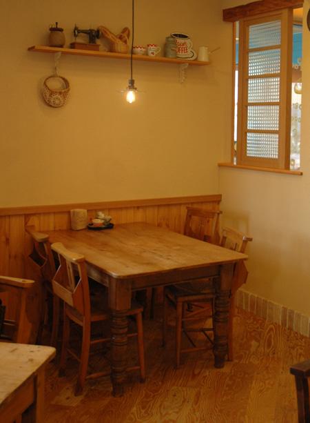 カフェコーナー画像左