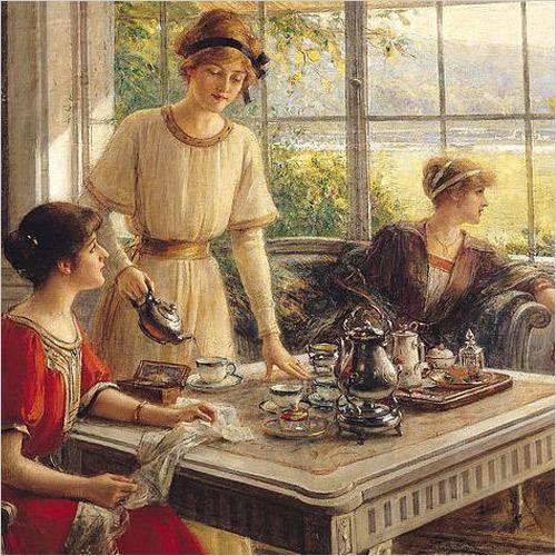 英国のお茶会で使われた陶磁器